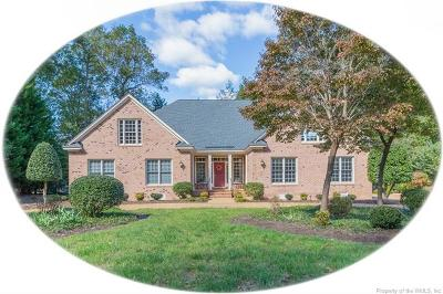 Williamsburg VA Single Family Home For Sale: $595,000
