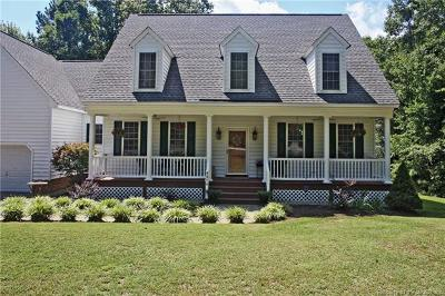 Single Family Home For Sale: 8974 Croaker Road