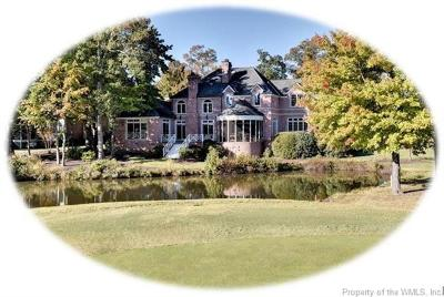 Governors Land, Kingsmill Single Family Home For Sale: 3001 Travis Pond Road