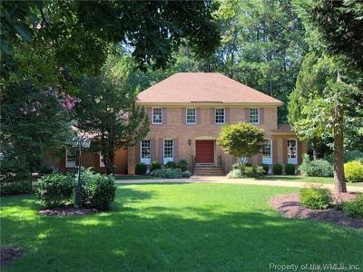 Kingsmill Single Family Home For Sale: 3 Whittakers Mill Road