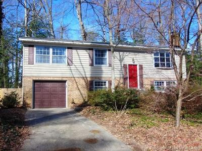Williamsburg VA Single Family Home For Sale: $274,000