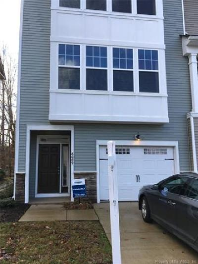 Williamsburg, Toano, Norge, Providence Forge Rental For Rent: 6489 West Revere Street