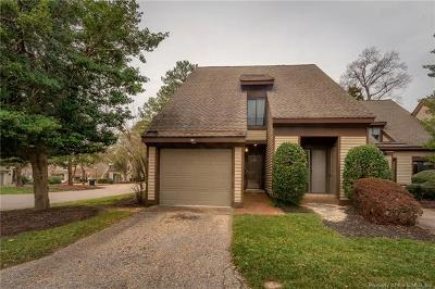 Kingsmill Condo/Townhouse For Sale: 39 Winster Fax