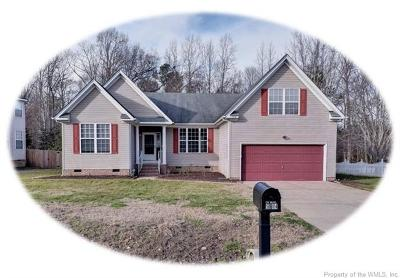James City County Single Family Home For Sale: 5104 West Grace Court