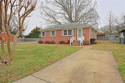 Hampton Single Family Home For Sale: 630 Redheart Drive