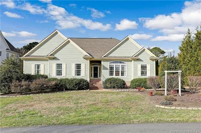 Williamsburg VA Single Family Home For Sale: $415,000