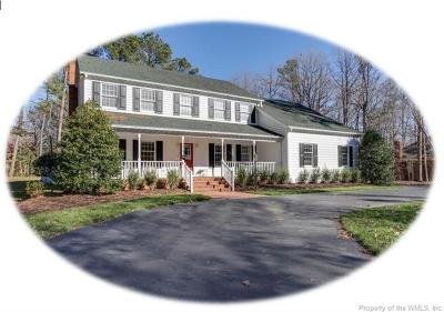 Williamsburg VA Single Family Home For Sale: $472,900