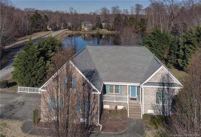 Williamsburg Single Family Home For Sale: 4905 Burnley Drive