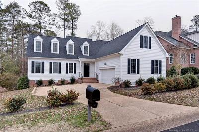 Williamsburg VA Single Family Home For Sale: $455,000
