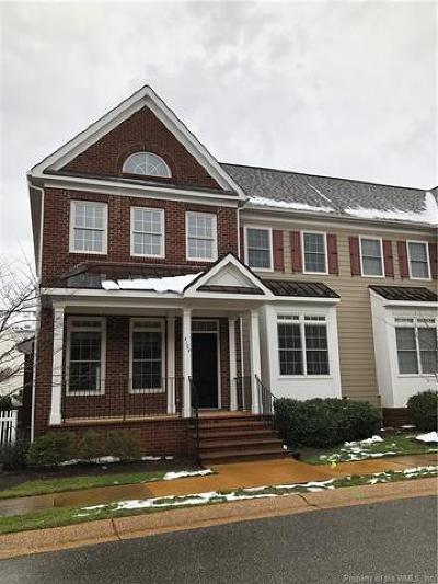 Williamsburg Condo/Townhouse For Sale: 4104 Poggio