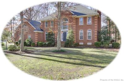 Williamsburg VA Single Family Home For Sale: $545,000