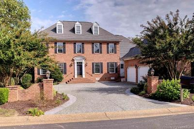 Williamsburg VA Single Family Home For Sale: $899,000
