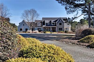 The Vineyards At Jockeys Neck Single Family Home For Sale: 2720 Jockeys Neck Trail
