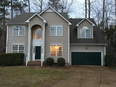 Powhatan Secondary Single Family Home For Sale: 172 Old Carriage Way