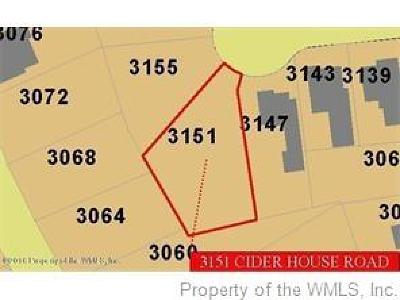 Residential Lots & Land For Sale: 3151 Cider House Road