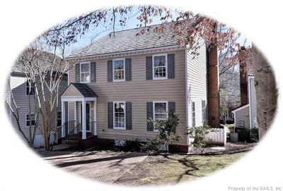 Hampton County, Isle Of Wight County, James City County, New Kent County, Suffolk County, Surry County, Williamsburg County, York County Condo/Townhouse For Sale: 658 Counselors Way