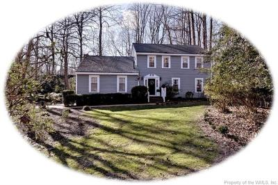 Kingsmill Single Family Home For Sale: 117 Jerdone Road