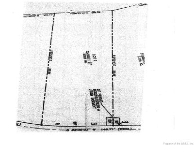 Toano Residential Lots & Land For Sale: Lot 2 Little Creek Dam Road