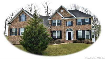 New Kent Single Family Home For Sale: 7297 Sedge Court