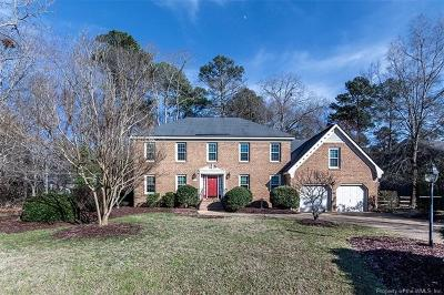 Williamsburg Single Family Home For Sale: 3009 Pine Hollow Path