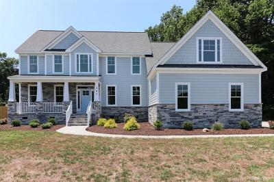 Yorktown Single Family Home For Sale: 707 Old Wormley Creek Road