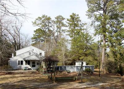Gloucester Single Family Home For Sale: 2436 Starvation Road