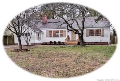 Williamsburg Single Family Home For Sale: 706 Lee Drive