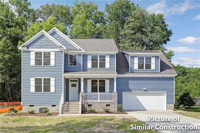 Yorktown Single Family Home For Sale: 4308 Big Bethel Road