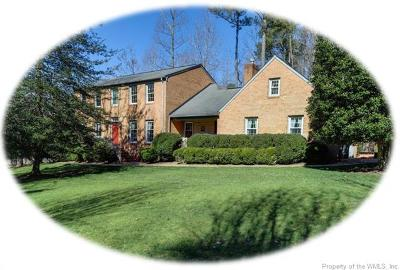 Kingsmill Single Family Home For Sale: 221 Tutters Neck