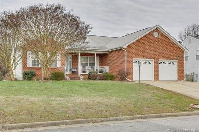 Yorktown Single Family Home For Sale: 112 Shea Lane
