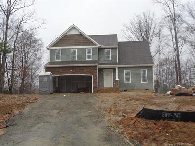 New Kent Single Family Home For Sale: 11505 Oakfork Drive