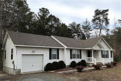 Gloucester Single Family Home For Sale: 4887 Turks Ferry Road