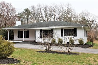 Yorktown Single Family Home For Sale: 625 Dare Road