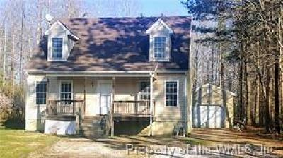 Single Family Home For Sale: 3303 Chickahominy Road