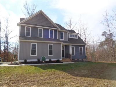 New Kent County Single Family Home For Sale: 11540 Oakfork Drive