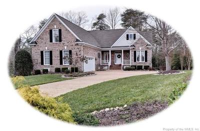 Toano Single Family Home For Sale: 9912 West Cork Road