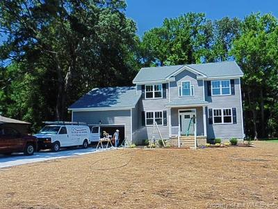 Yorktown Single Family Home For Sale: 402 Carys Chapel Road