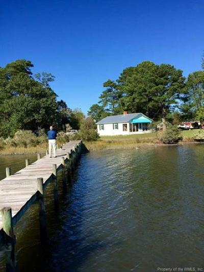 Single Family Home For Sale: 1104 Possum Point Road