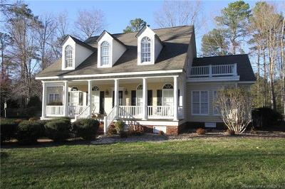 Williamsburg Single Family Home For Sale: 2941 Nathaniels Run