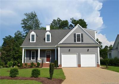 Williamsburg VA Single Family Home For Sale: $578,800