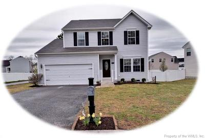 Toano Single Family Home For Sale: 3443 Frederick Drive