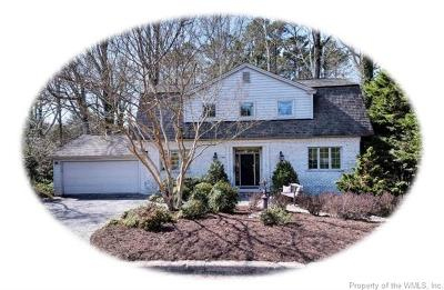 Williamsburg Single Family Home For Sale: 304 Indian Springs Road