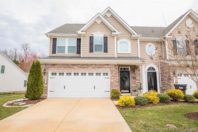 The Settlement At Powhatan Creek Condo/Townhouse For Sale: 4049 Coronation