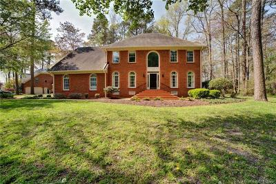 Yorktown Single Family Home For Sale: 107 Port Cove