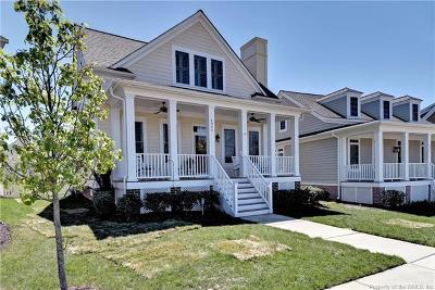 Williamsburg Single Family Home For Sale: 4903 Ercil Way