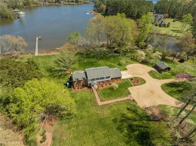 Single Family Home For Sale: 5597 Paynes Point Road