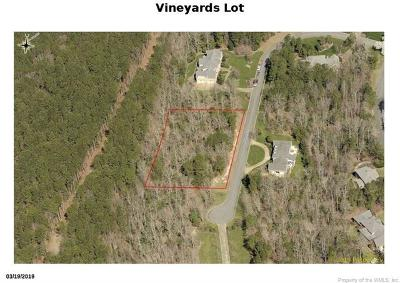 Williamsburg Residential Lots & Land For Sale: 2412 Reserve Drive