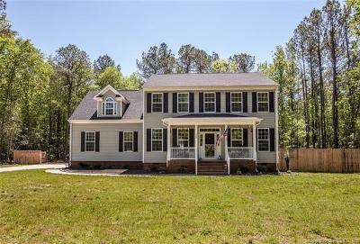 Yorktown Single Family Home For Sale: 722 Hornsbyville Road