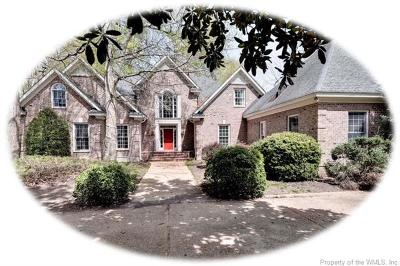 Governors Land, Kingsmill Single Family Home For Sale: 224 Jeffersons Hundred