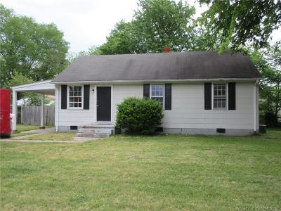 Williamsburg Single Family Home For Sale: 1202 Wilkins Drive